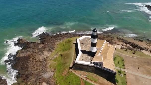Aerial View of Farrol da Barra in Salvador, Bahia, Brazil