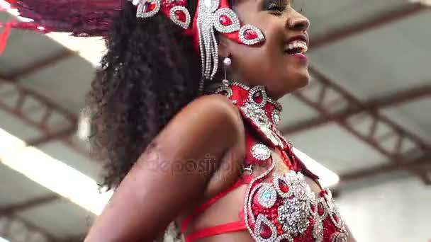 Brazil nő üdvözlőprogram emberek Carnaval