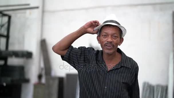 Brazilské muž tance Samba - Sambista