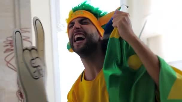 Brazilské ventilátor slavit doma