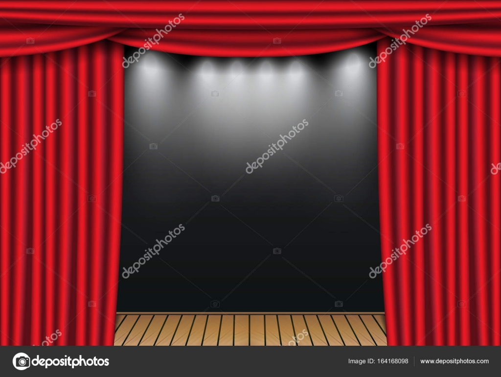 theater and panels curtains new stage products home velvet drapes