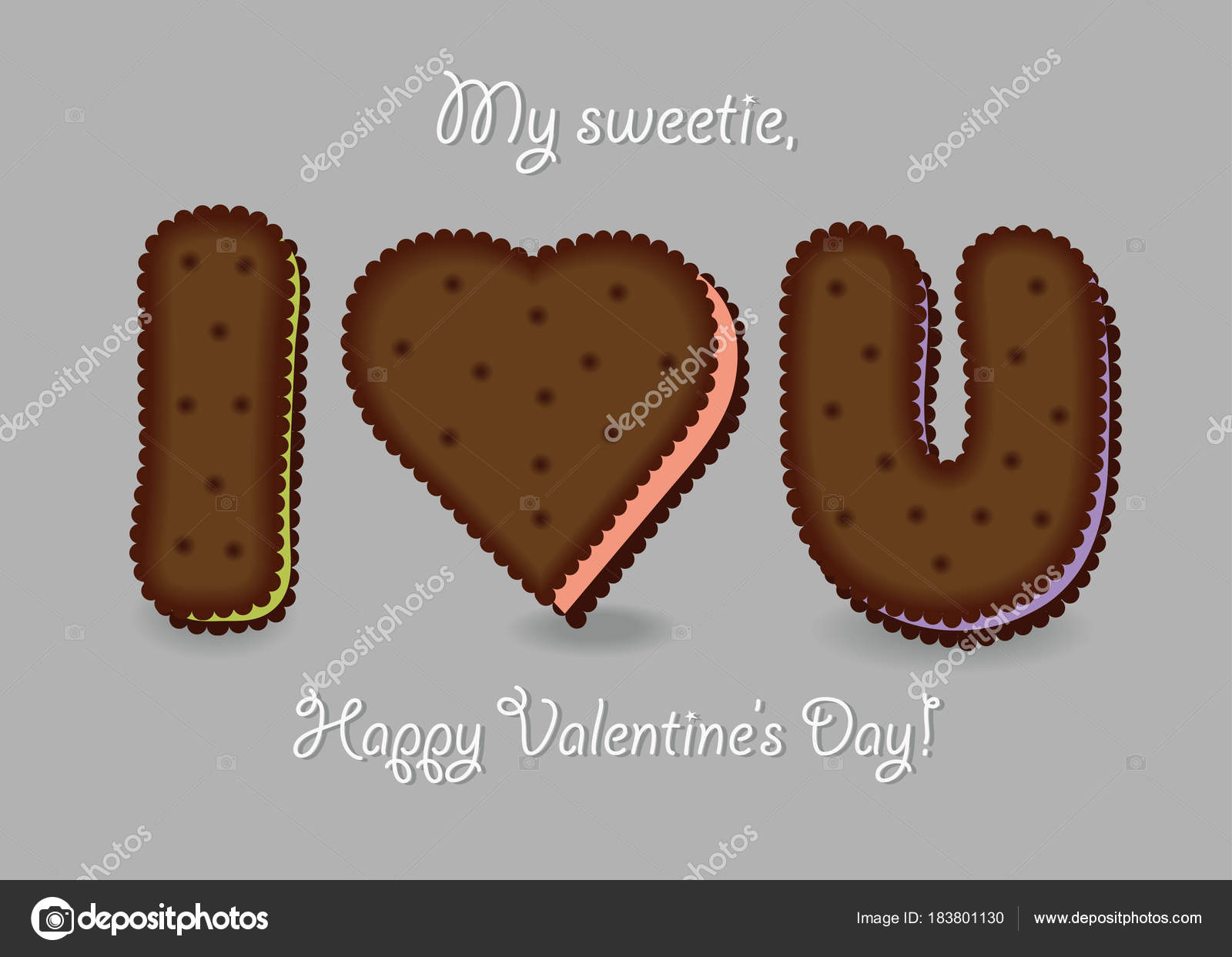 jag älskar dig choklad