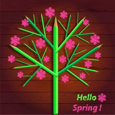 Flowering tree, spring