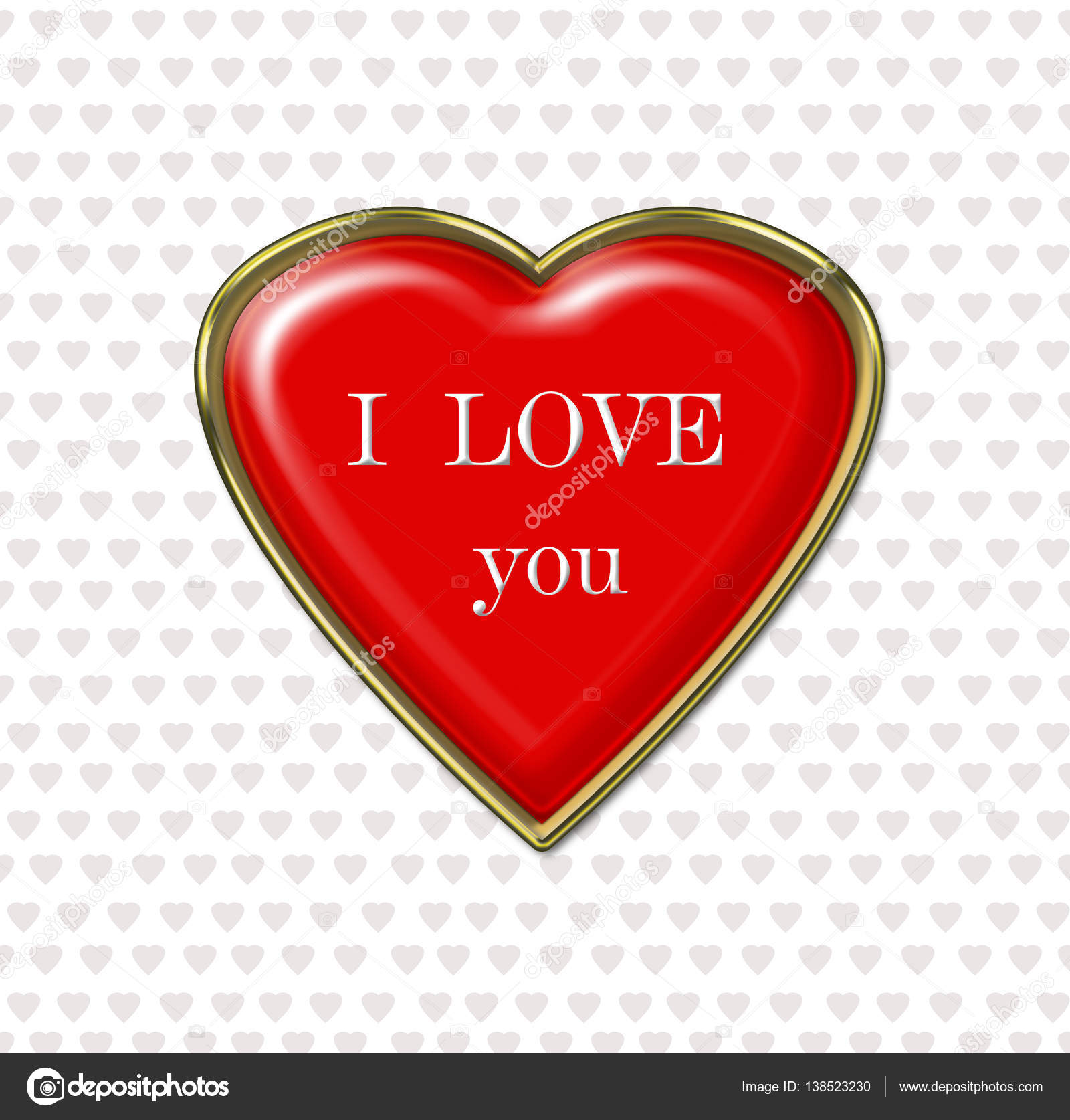 Heartfelt Greetings For A Loved One Stock Vector Gpom3223 138523230