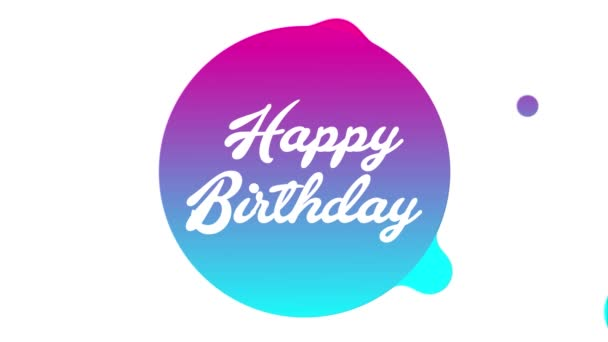Alles Gute Zum Geburtstag Animation Stockvideo Artjafara 167276846