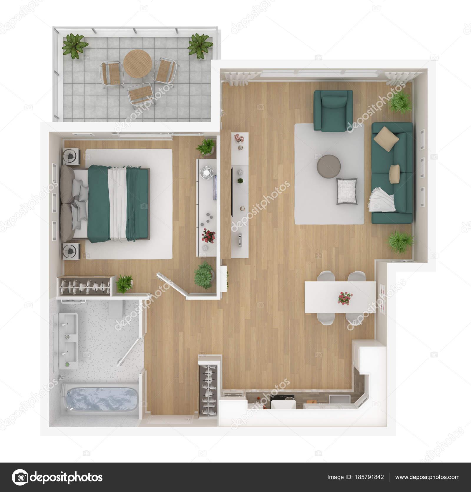 https://st3.depositphotos.com/3856085/18579/i/1600/depositphotos_185791842-stockafbeelding-bovenaanzicht-van-plattegrond-appartement-interieur.jpg