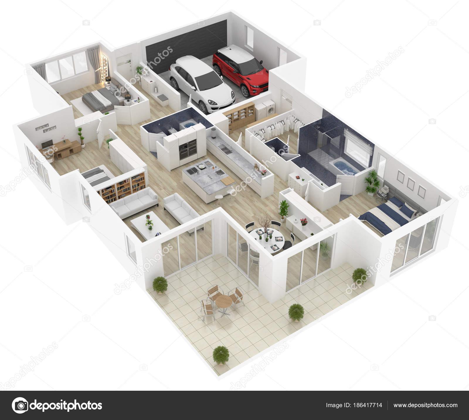 Dise o de casas 3d dekoratioun wallpaper for Planner casa 3d