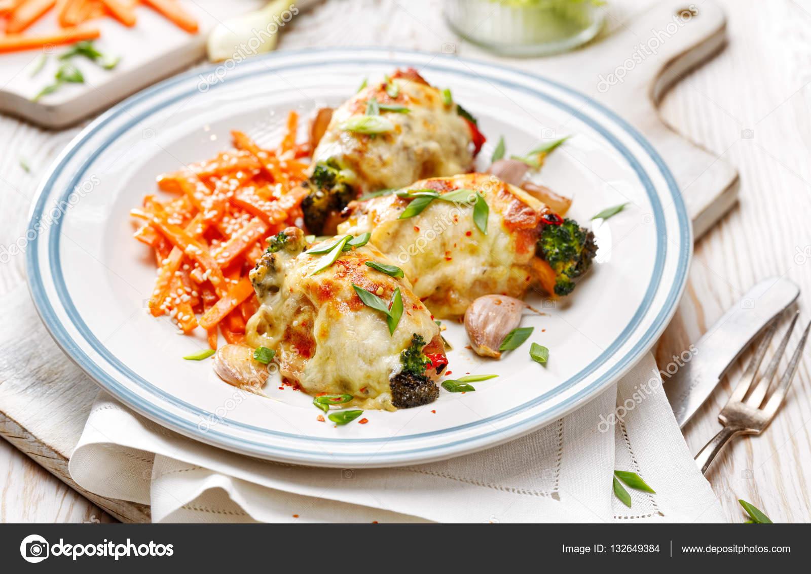 Kavrulmuş sebzeli tavuk tarifi