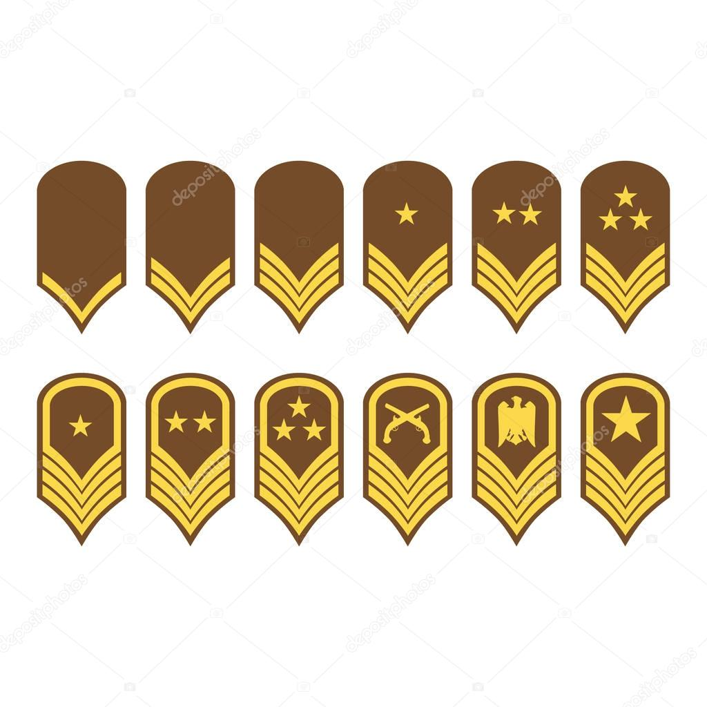 Epaulets military ranks and insignia stock vector viktorijareut epaulets military ranks and insignia stock vector biocorpaavc Images
