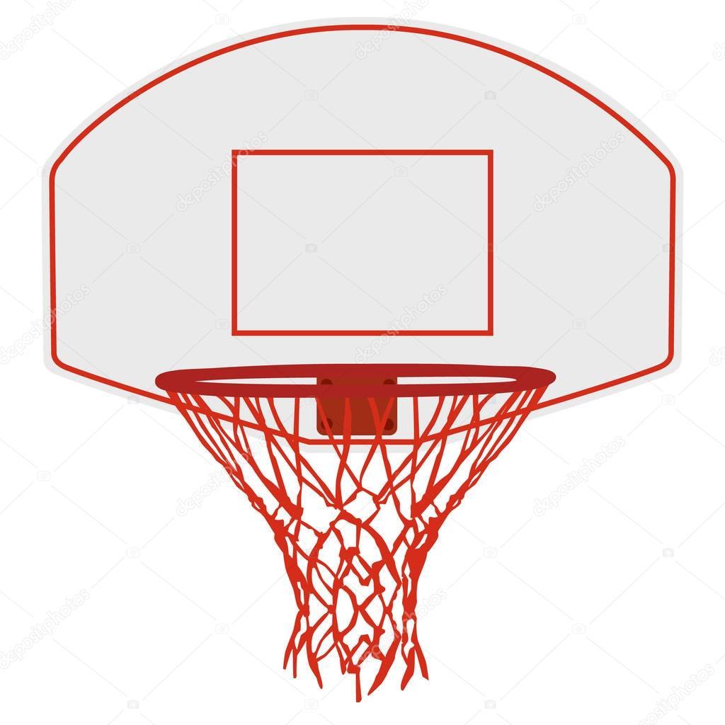 Vector: camiseta de basquet - Vector de la cesta de baloncesto — Vector de stock © viktorijareut ...