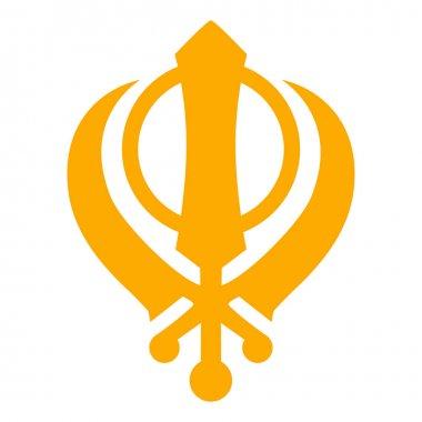 Khanda Sikh vector