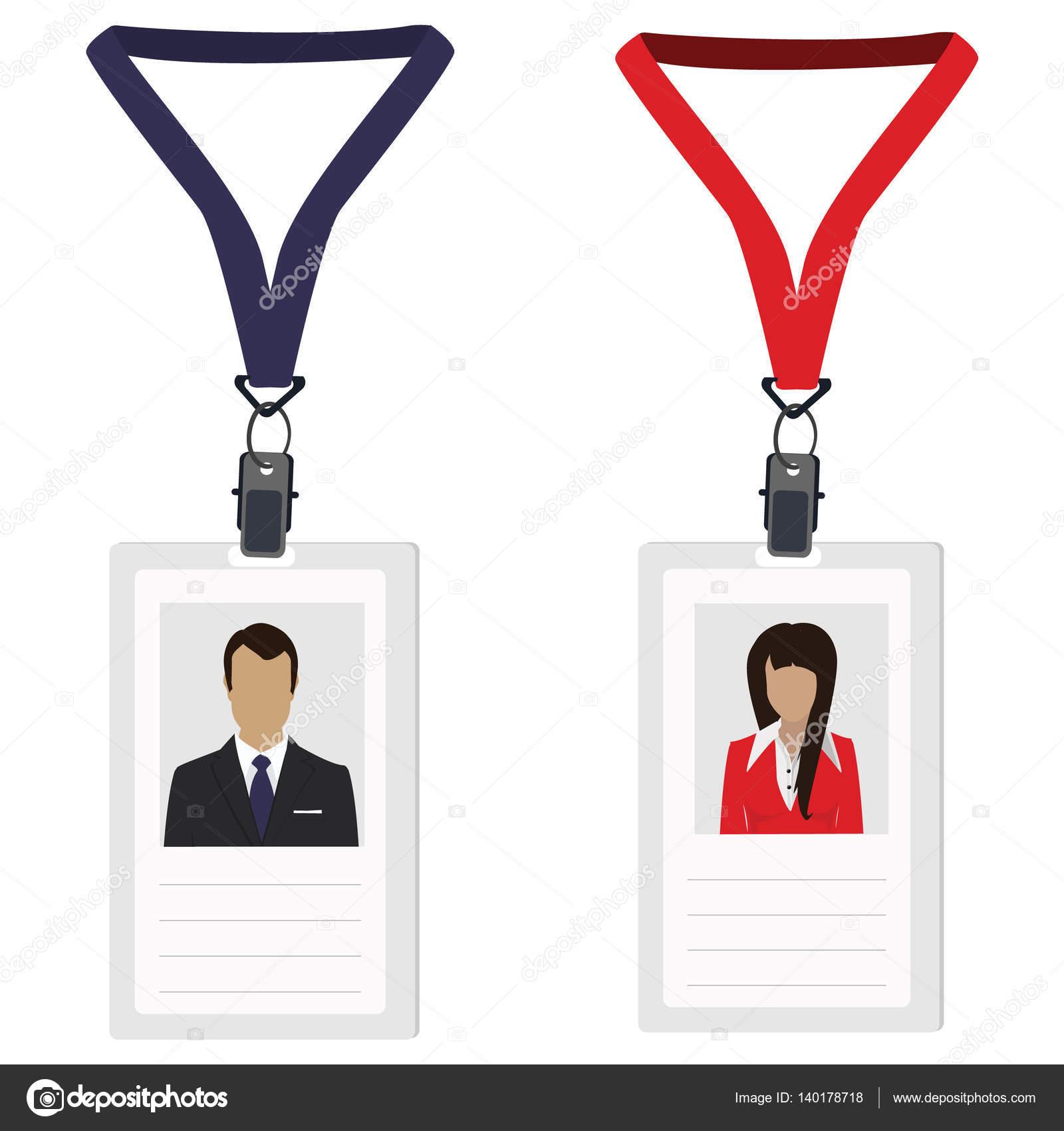 two employee badges stock photo viktorijareut 140178718
