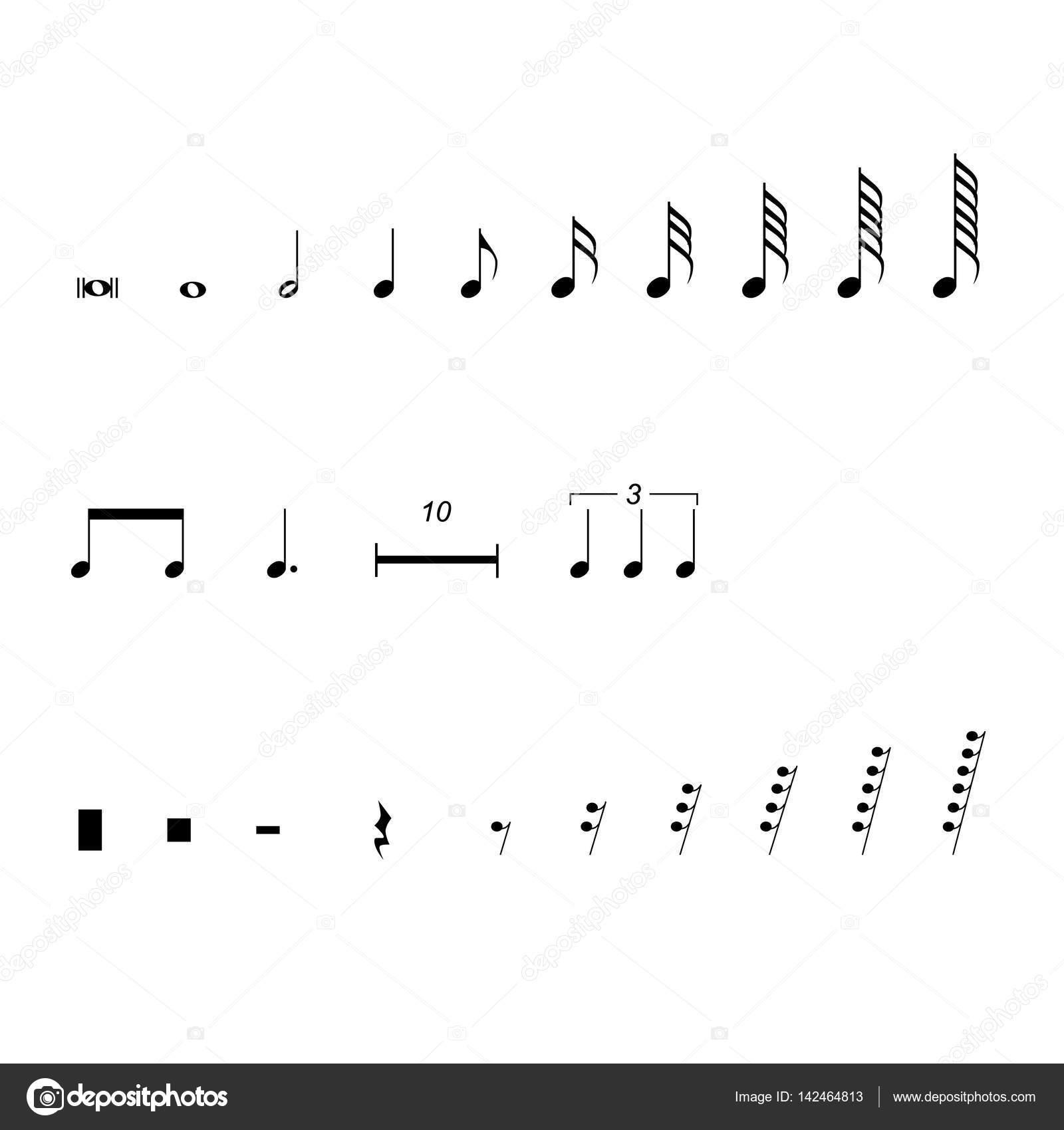 Musical notation symbols stock vector viktorijareut 142464813 musical notation symbols stock vector biocorpaavc
