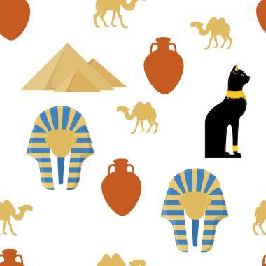 Egypt cat pattern