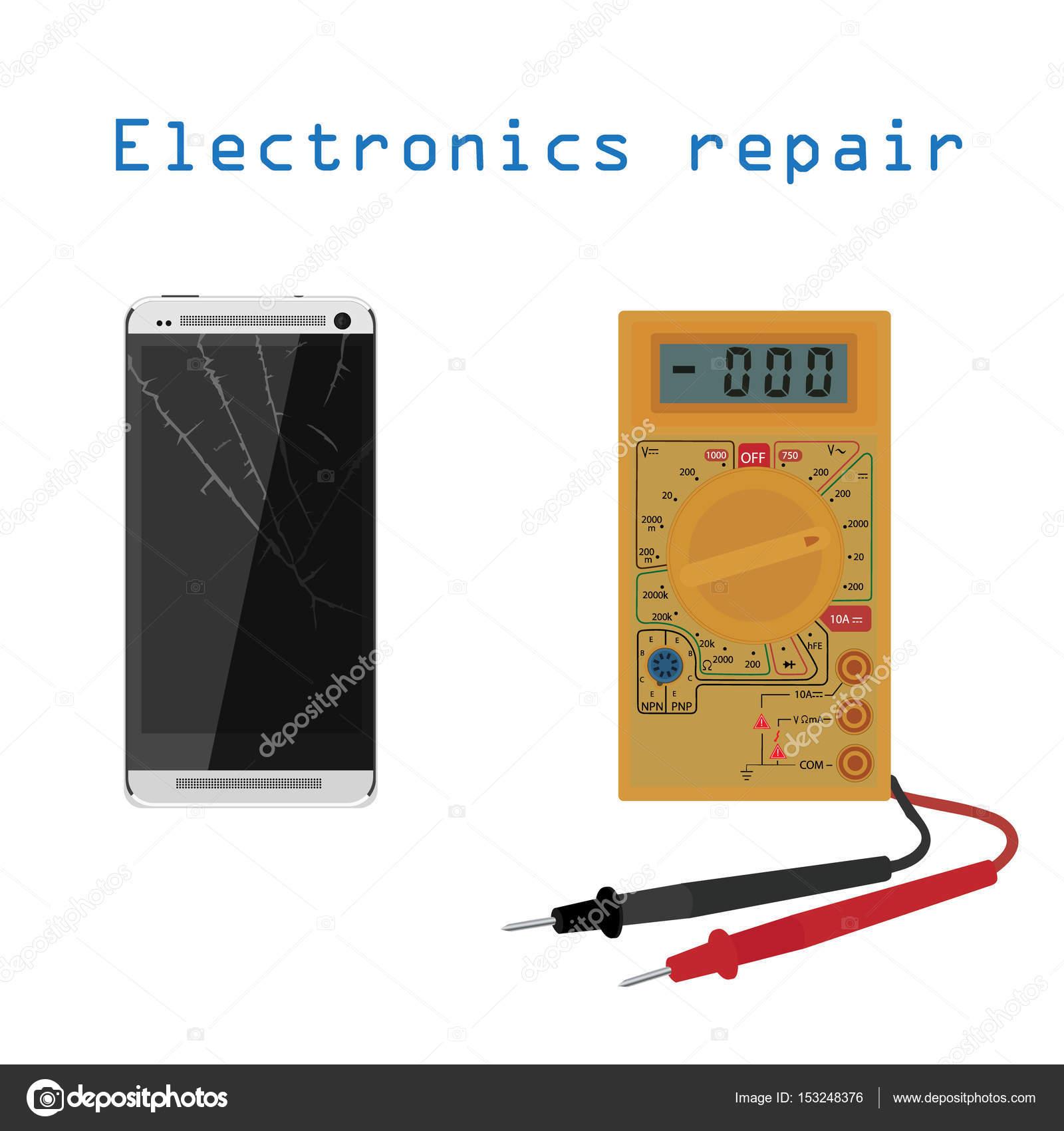 Elektronische Reparatur-Konzept — Stockfoto © viktorijareut #153248376