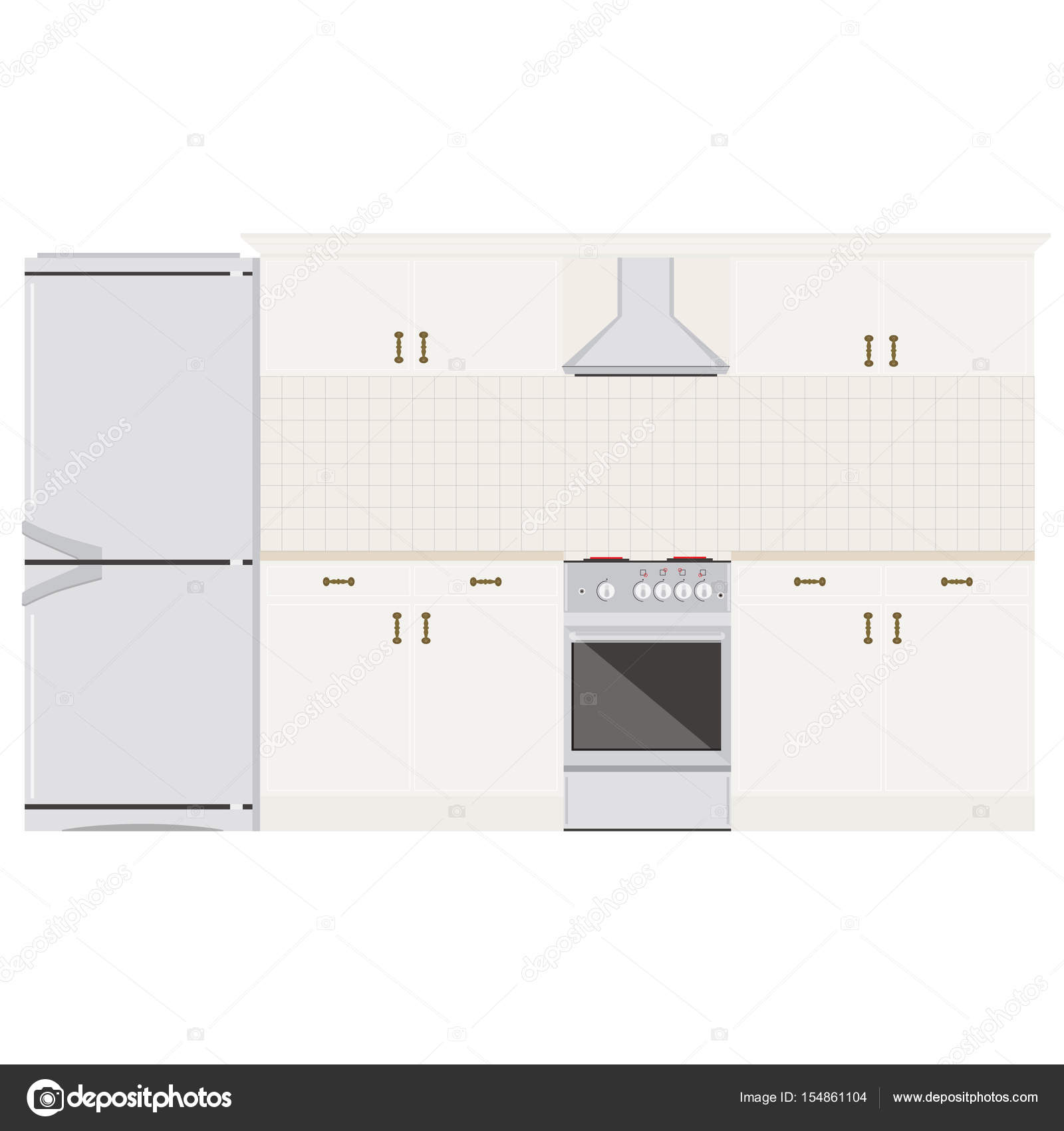 Cocina sala raster — Foto de stock © viktorijareut #154861104