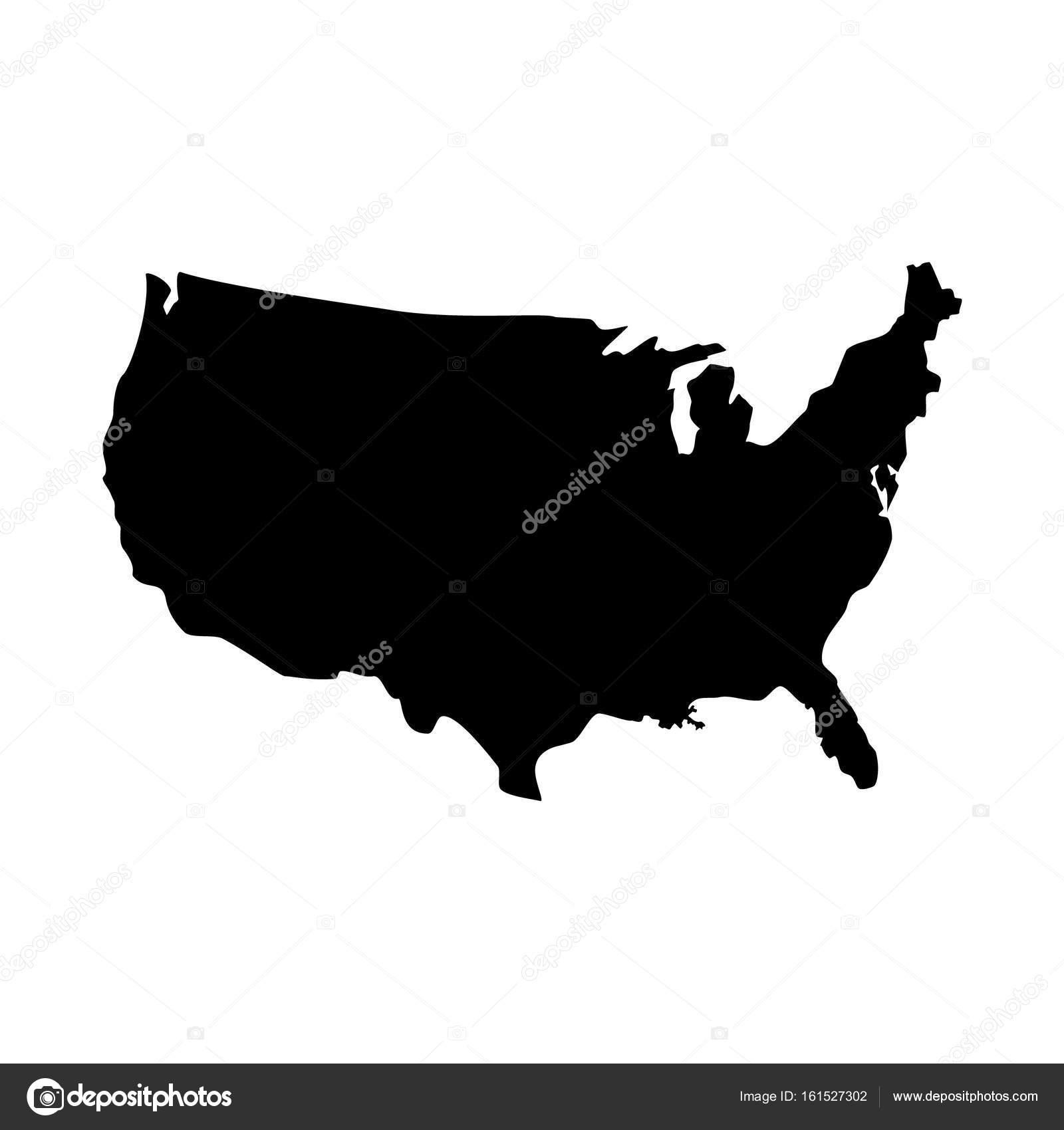 USA map icon — Stock Photo © viktorijareut #161527302
