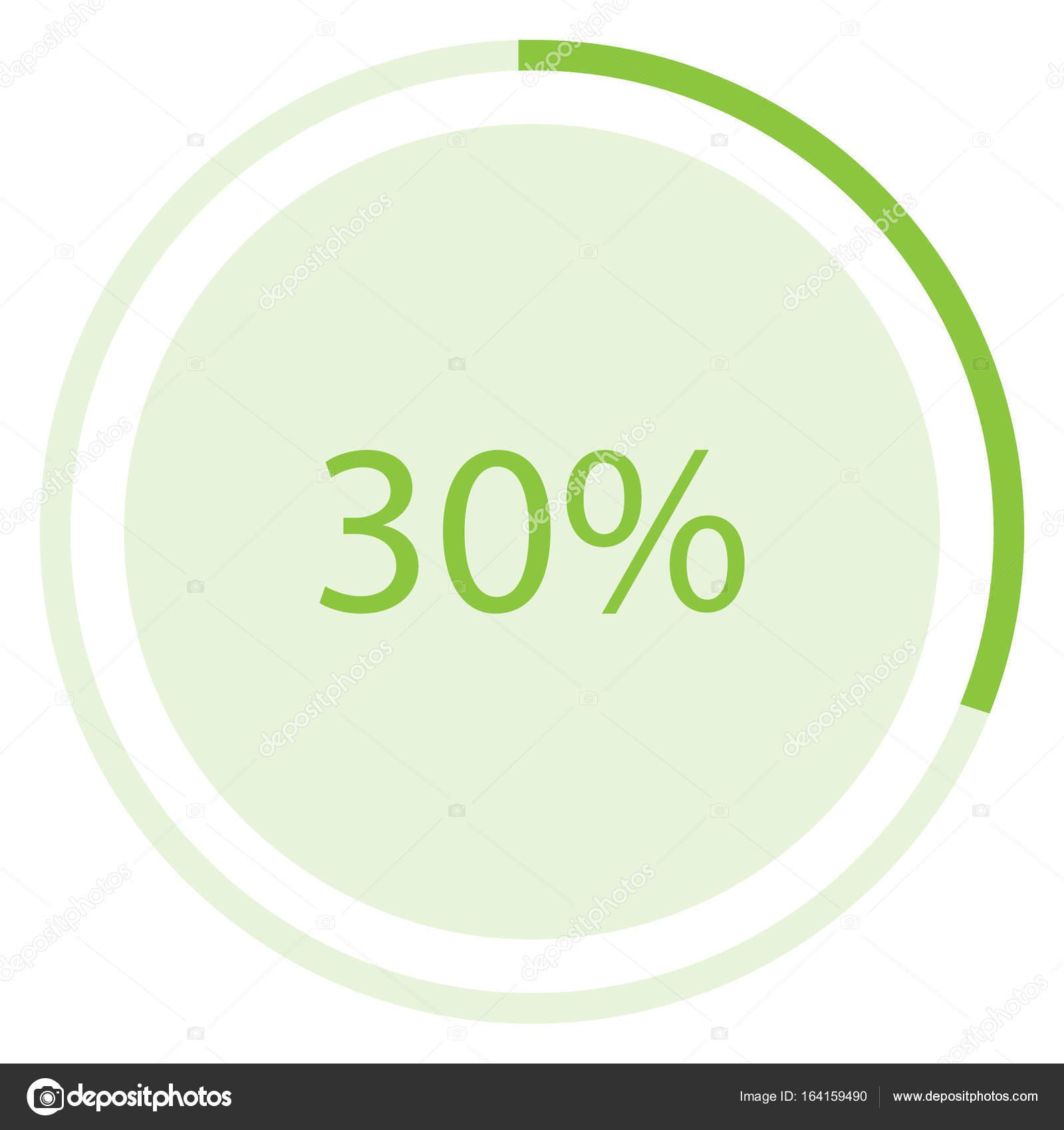 Pie chart raster stock photo viktorijareut 164159490 raster illustration green round circle pie graph chart with percentage 30 icon photo by viktorijareut nvjuhfo Choice Image