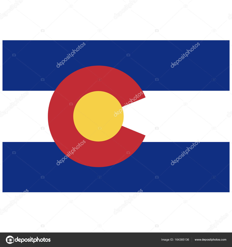 colorado flag vector stock vector viktorijareut 164385136 rh depositphotos com