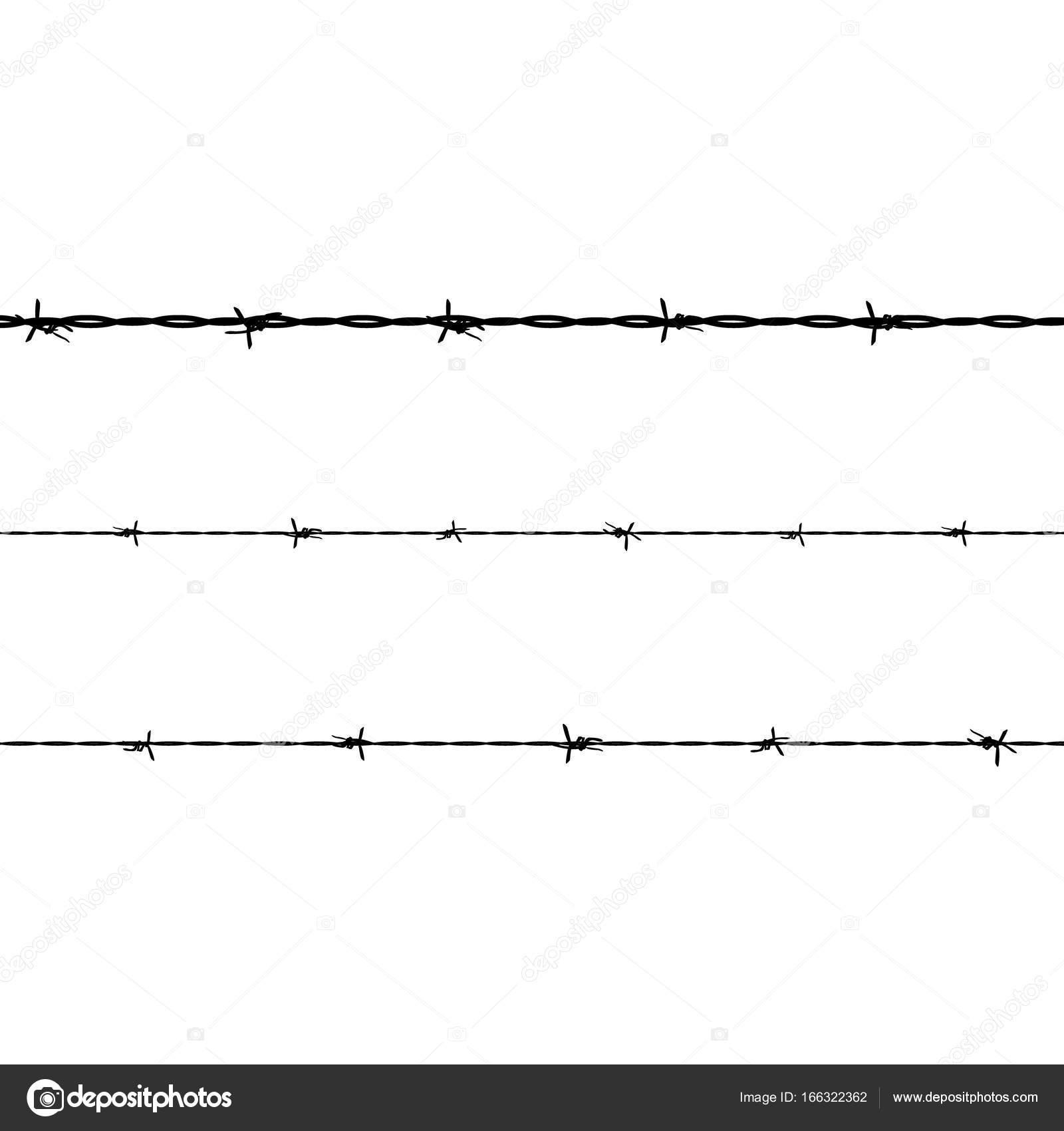 Barbed wire fence — Stock Photo © viktorijareut #166322362