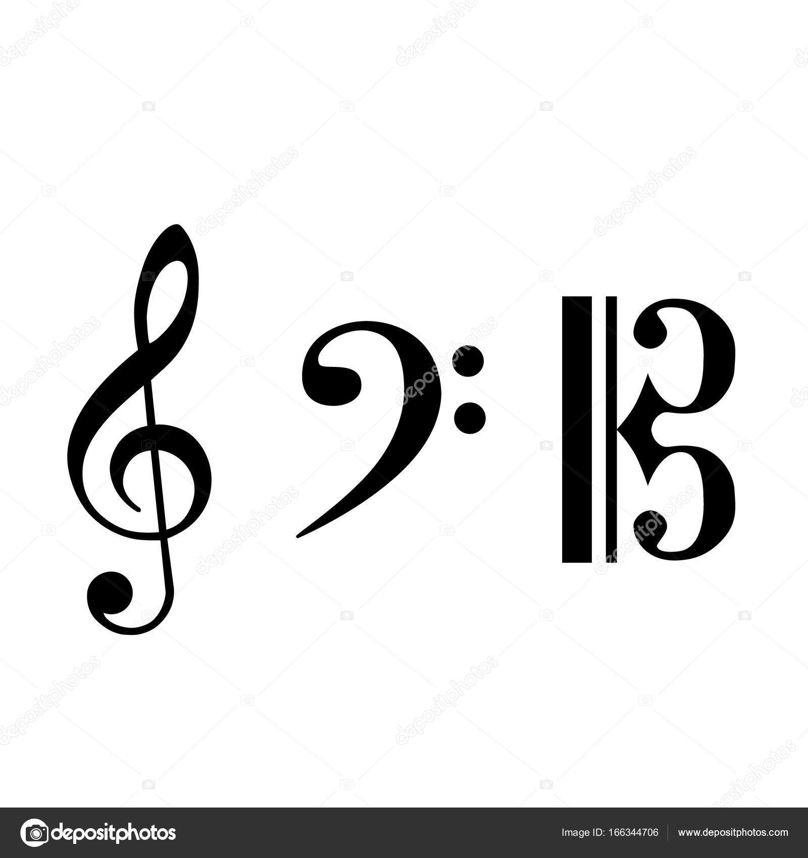 Musical note set stock photo viktorijareut 166344706 black note icon set music symbol musical key collection notation clef photo by viktorijareut buycottarizona