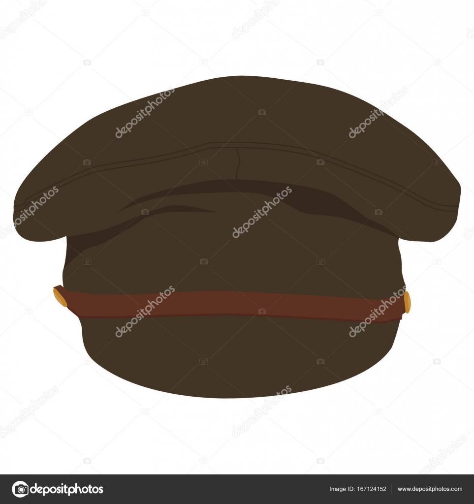c298147d894 Military army hat — Stock Vector © viktorijareut  167124152