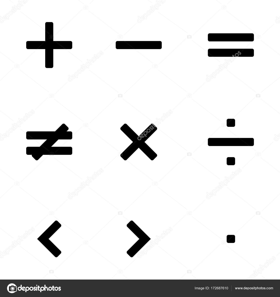 Math symbols vector stock vector viktorijareut 172687610 math symbols vector stock vector biocorpaavc Image collections