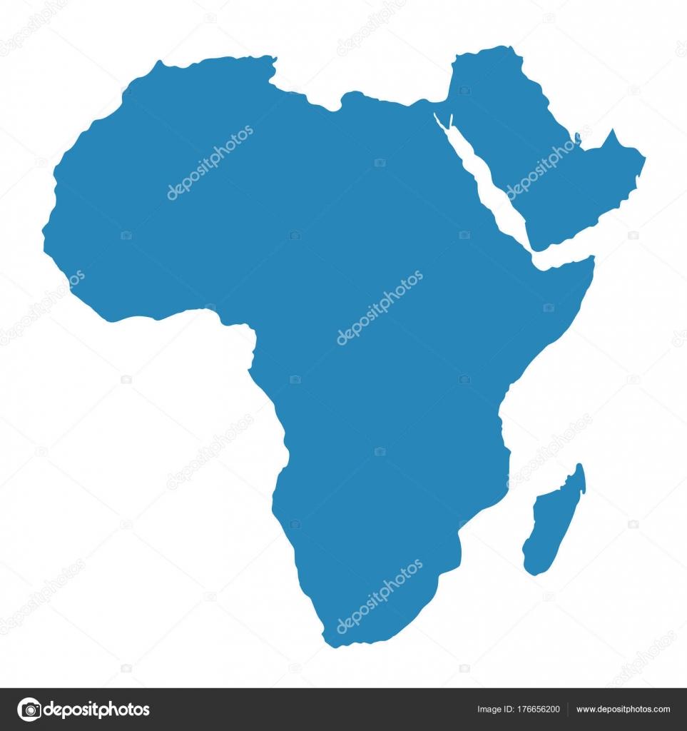 Carte Afrique Vectorielle.Vecteur De Carte Afrique Image Vectorielle Viktorijareut