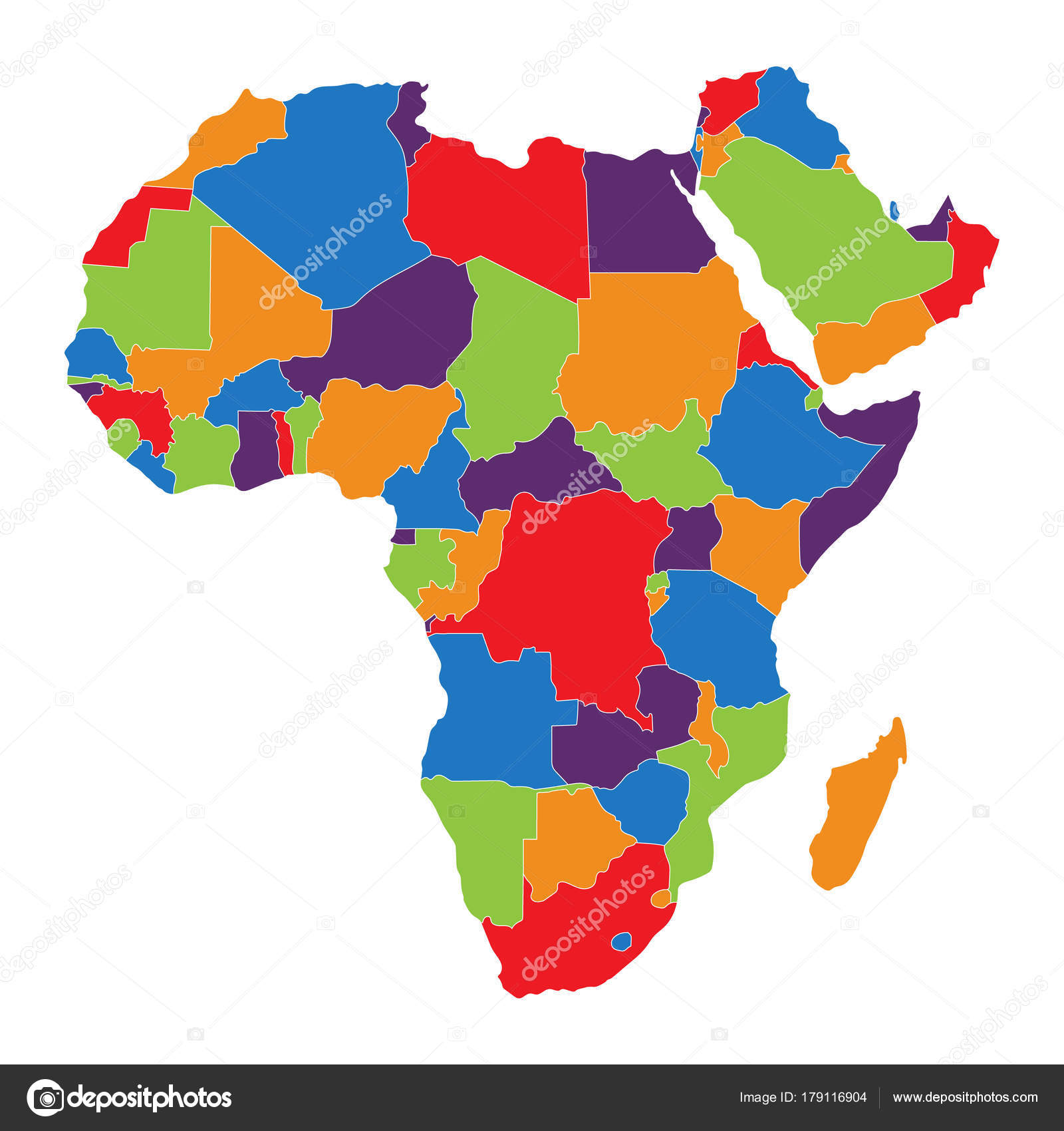 Africa map raster stock photo viktorijareut 179116904 africa map raster stock photo gumiabroncs Gallery