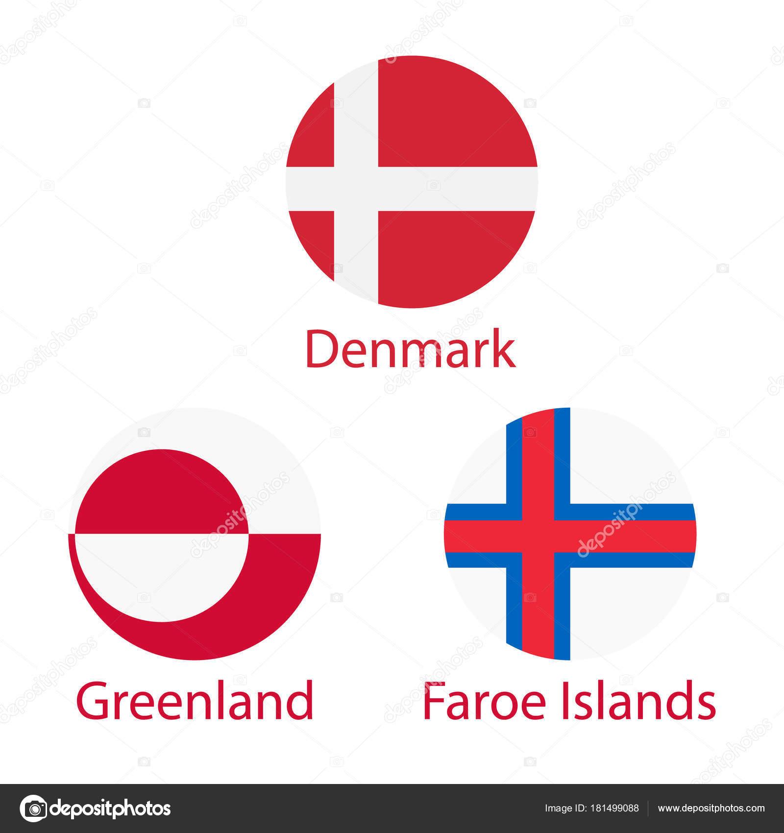 Gronland Faroe Adasi Ve Danimarka Stok Foto C Viktorijareut