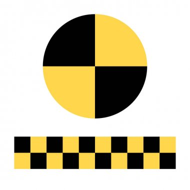 Crash test symbol