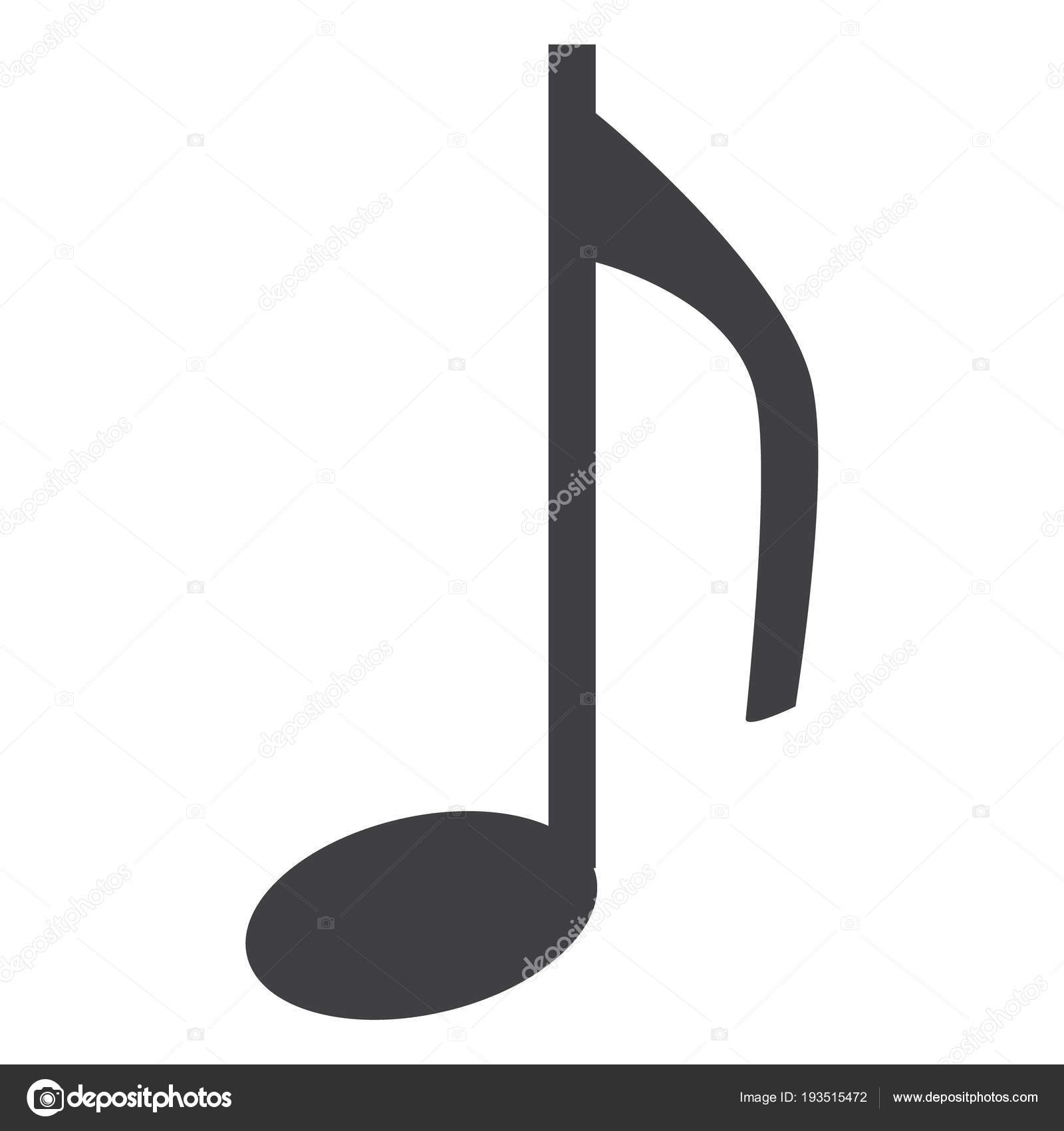 music note icon stock vector viktorijareut 193515472 rh depositphotos com vector music notes free vector music note icon