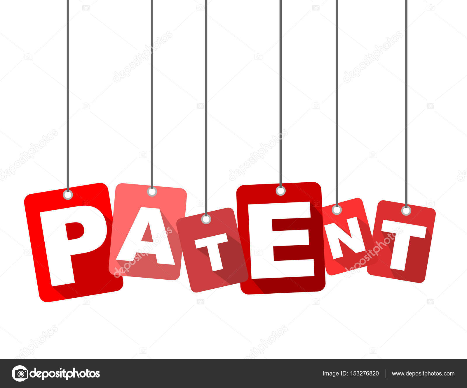 Red Vector Flat Design Background Patent It Is Well Adapted For Web