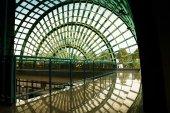 a szerkezet a Pescara airport építészeti részletek