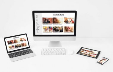 Responsive and/or adaptive web design on different screen sizes