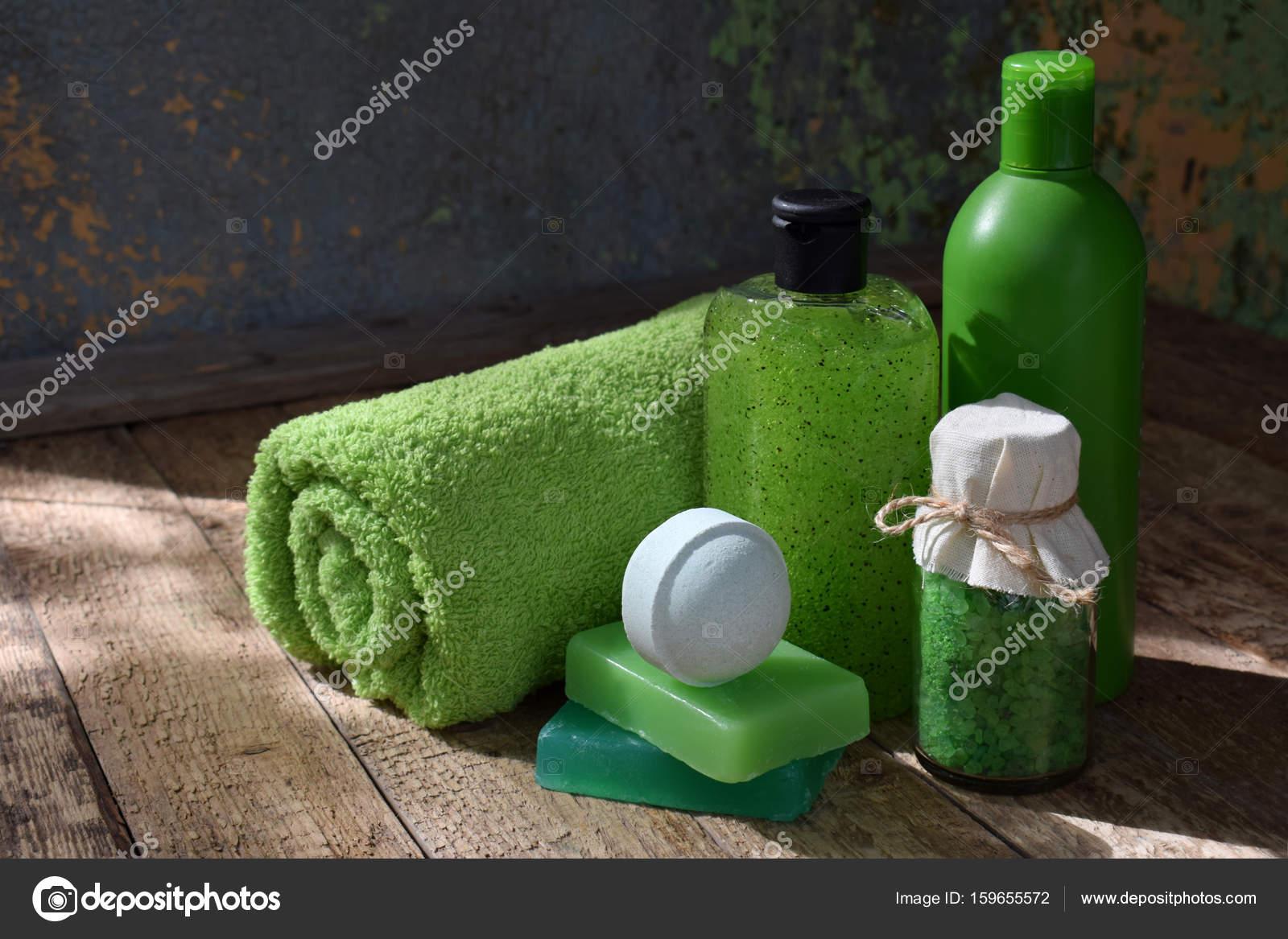 Limette Minze Zusammensetzung der Threatment Schönheitsprodukte in ...