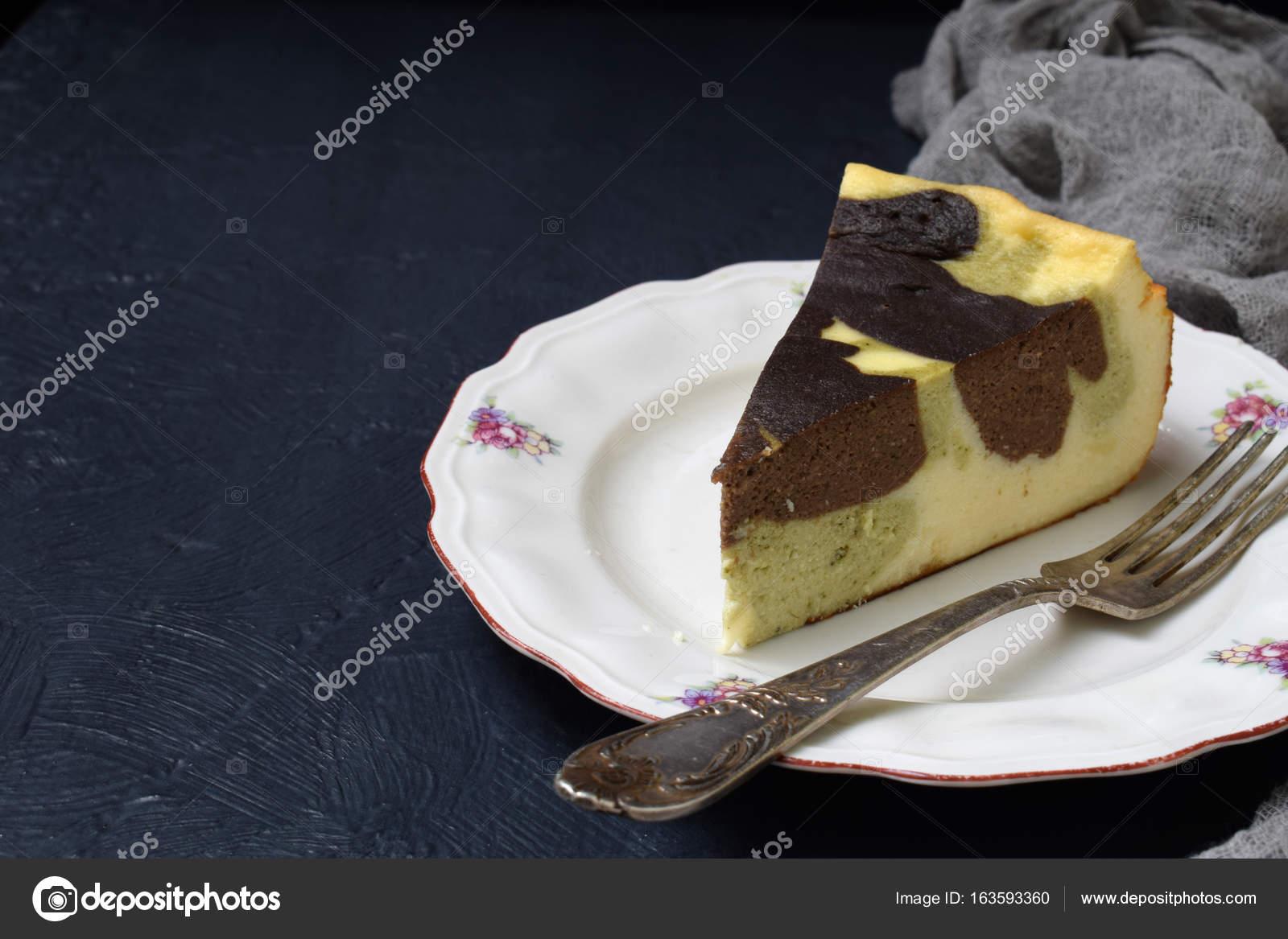 Dark Chocolate Marble Cheesecake