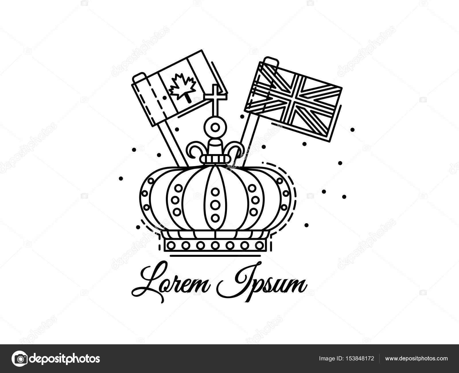 Imágenes La Bandera De Canada Para Colorear Contorno De