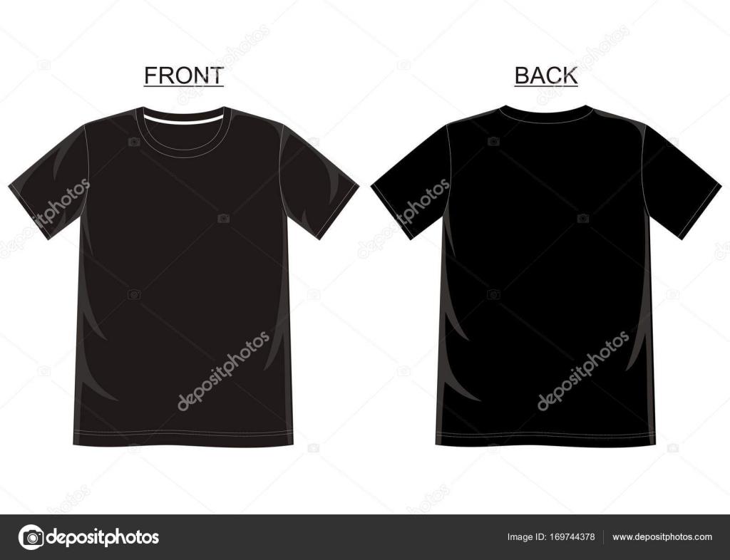 Vektor-t-Shirt-Vorlage — Stockvektor © d2ptri #169744378