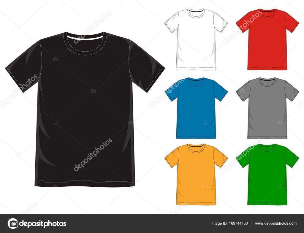 Vektor-t-Shirt-Vorlage — Stockvektor © d2ptri #169744436