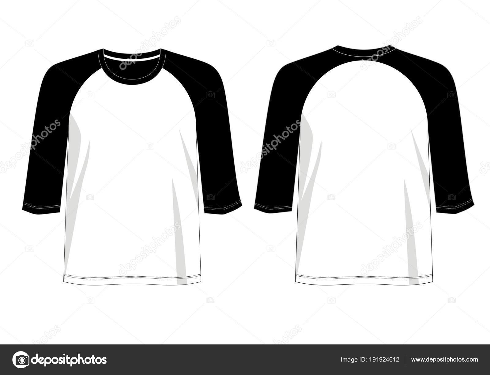 vector design shirt template shirt men color black white red stock
