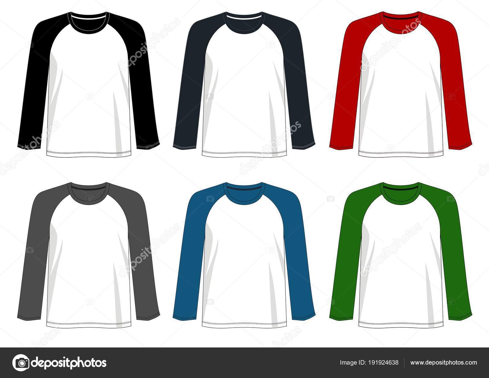 Vector Design Shirt Template Shirt Men Color Black White Red Vector Image By C D2ptri Vector Stock 191924638