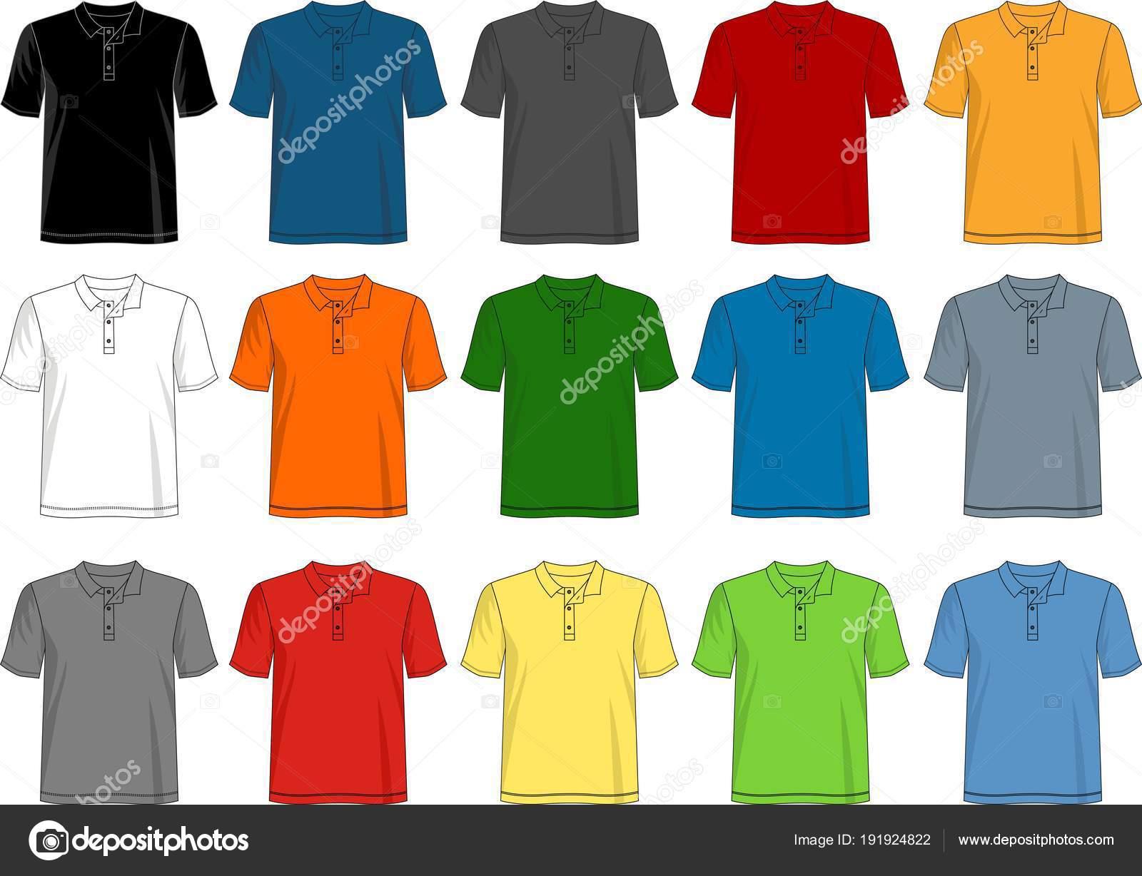 Διάνυσμα πρότυπο πουκάμισο t σχεδίασης αντρικό πουκάμισο t με χρώμα μαύρο  Λευκή κόκκινο μπλε γκρι πορτοκαλί πράσινο– εικονογράφηση αρχείου 9b0b8be615a