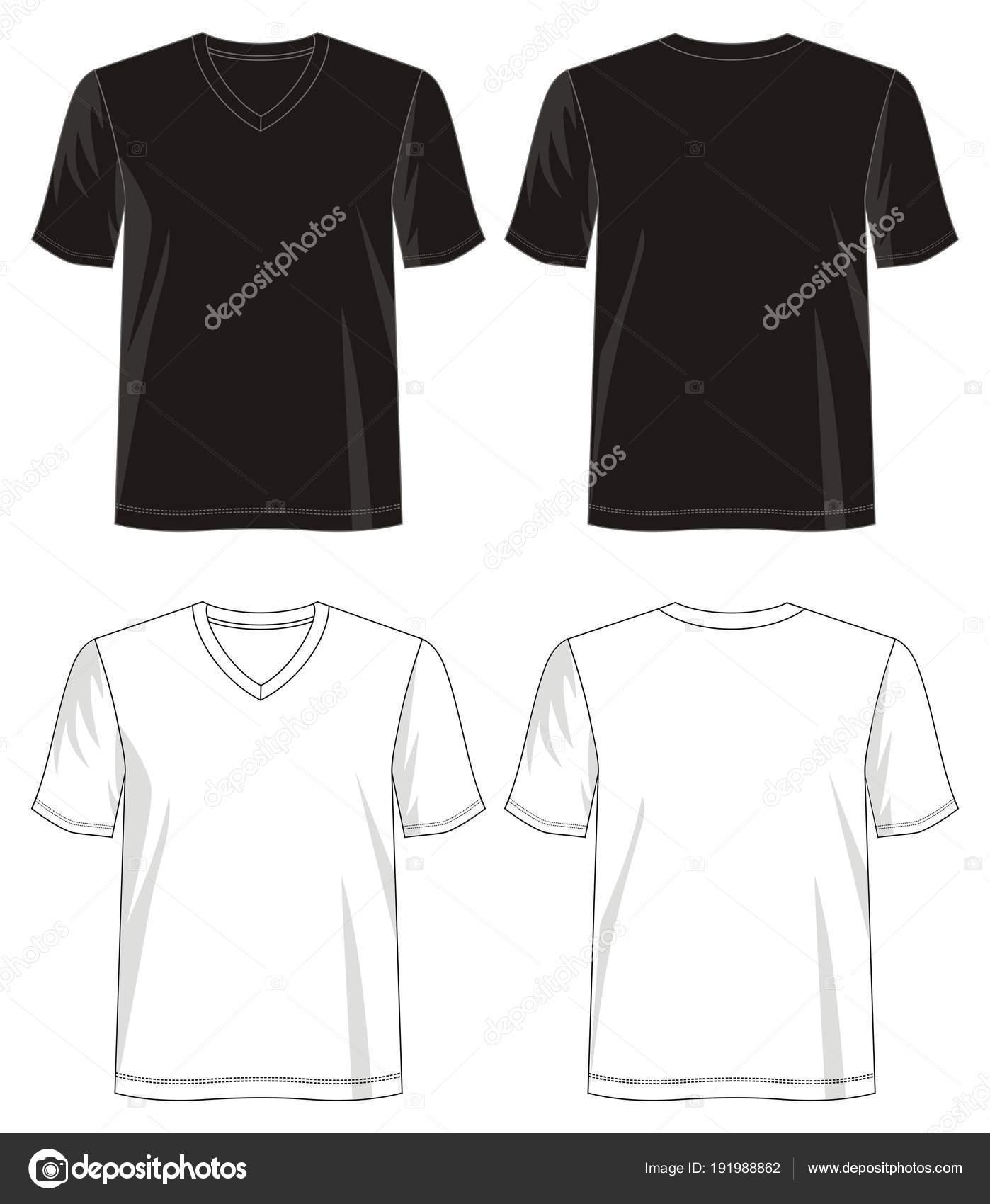 Design Vektor Shirt Vorlage Kollektion Für Männer Mit Farbe Schwarz ...