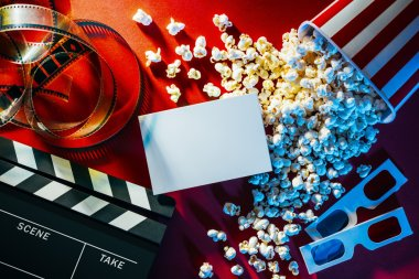 Cinema promo card