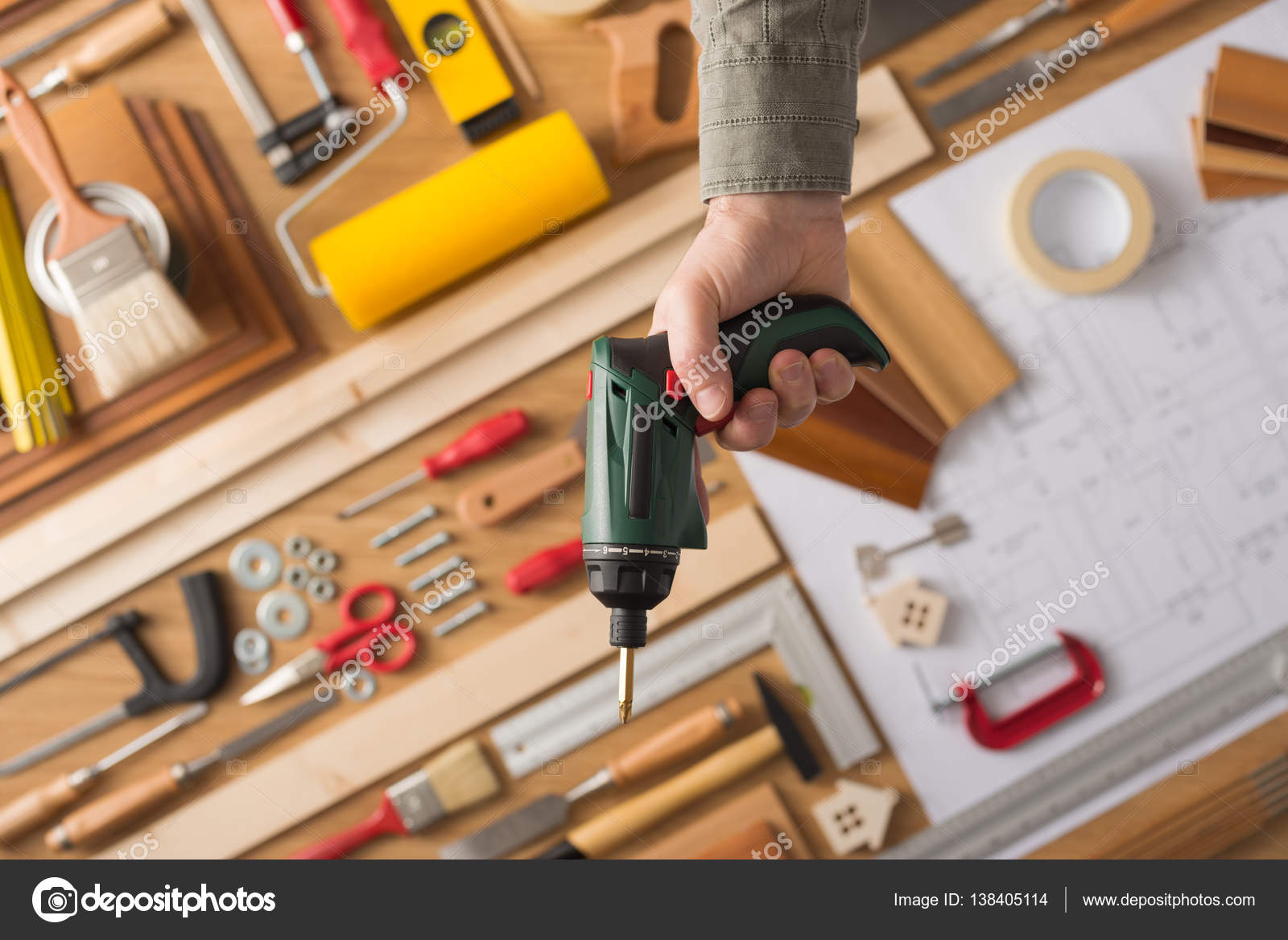 Do it yourself and home renovation tools stock photo stockasso do it yourself and home renovation tools stock photo solutioingenieria Gallery