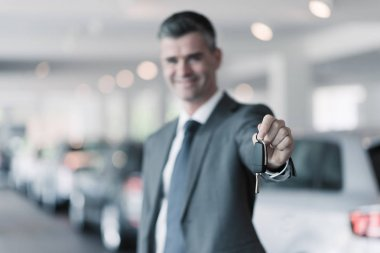 Your new car keys