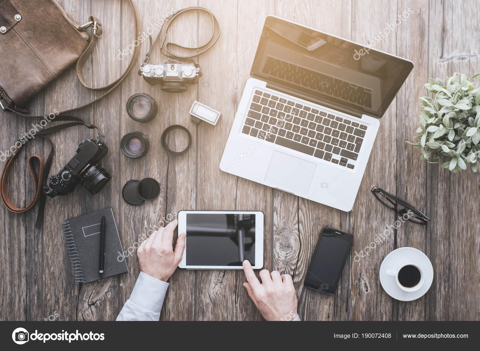 Freelance photographer — Stock Photo © stockasso #190072408