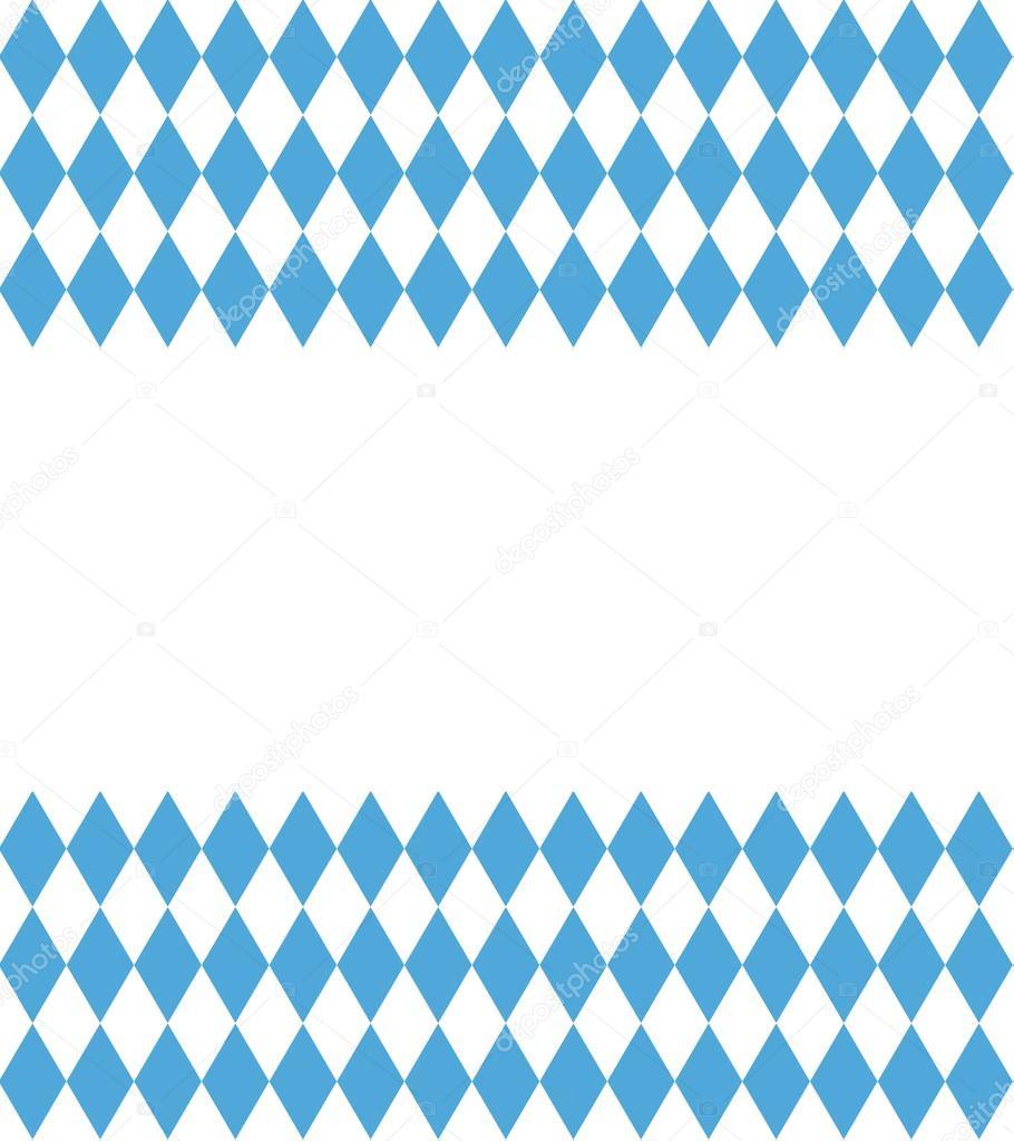 Bayern Pattern Background Traditional German