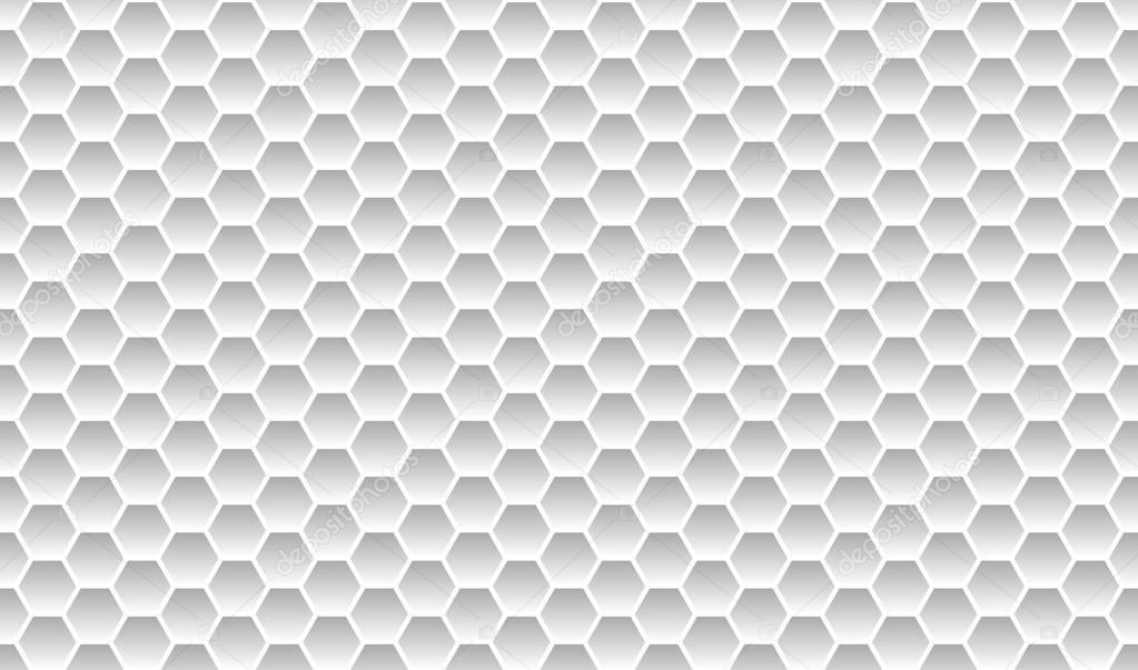 Honeycomb background light grey — Stock Photo © keport ...